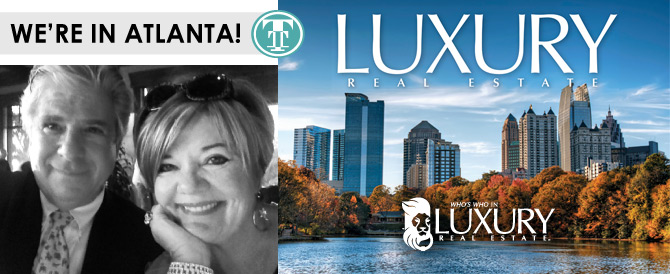 Royal Shell Real Estate Agents Michael And Lauren Taranto Are At The Luxury  Real Estate Conference In Atlanta