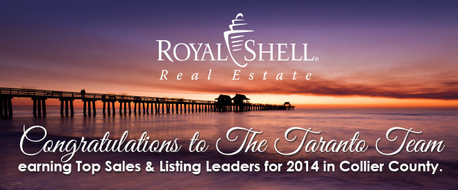 Top Sales & Listing Leaders for 2014 in Collier County!